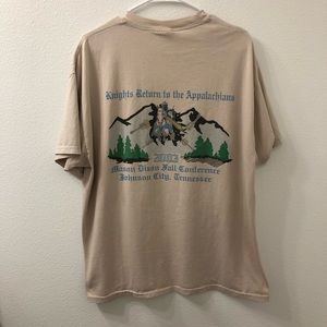Blue Knights motorcycle club Tennessee shirt vtg